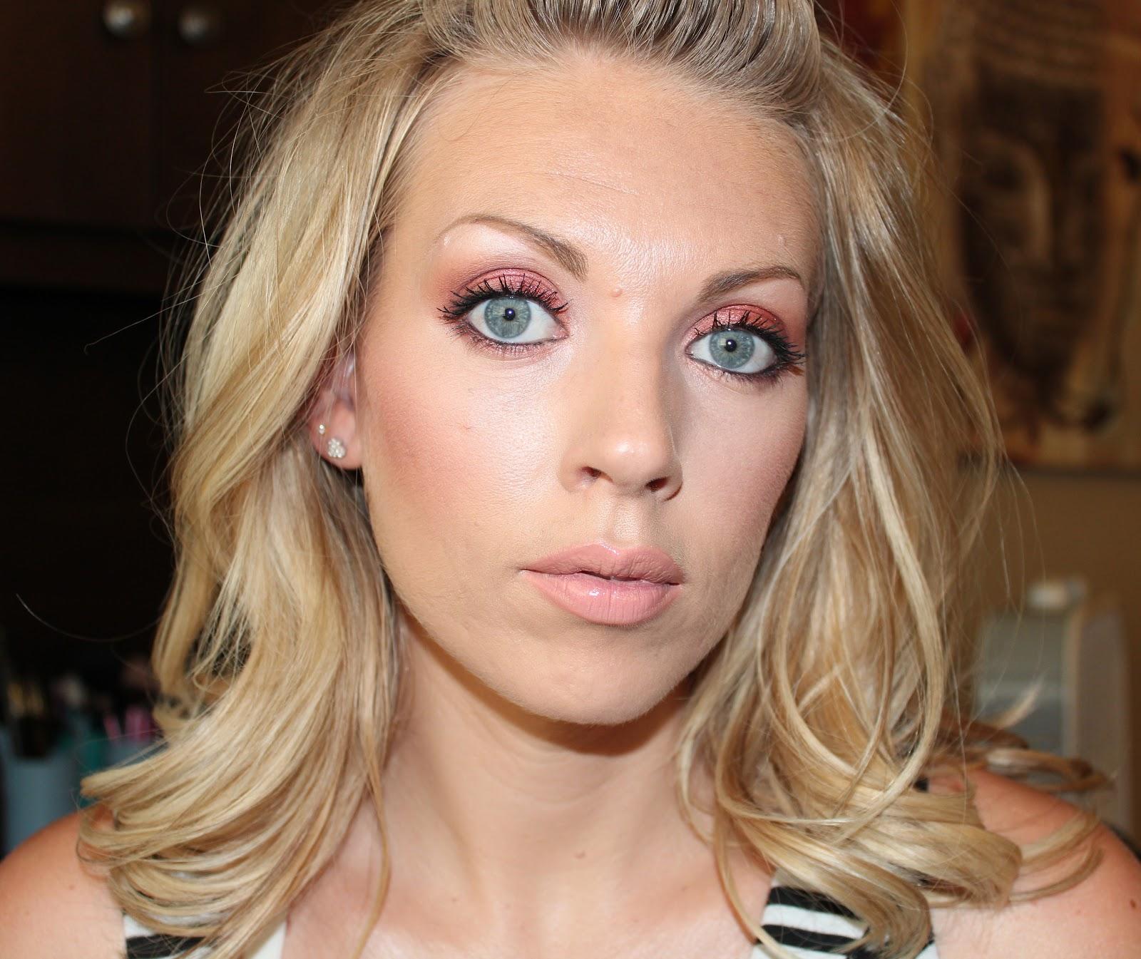 Sam Schuerman Fotd Makeup For Blue Or Green Eyes