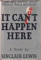 It Can't Happen Here, Sinclair Lewis, Fascism, Resistance, Alternate History
