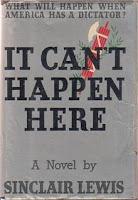 It Can't Happen Here, Sinclair Lewis, Fascism, Resistance, Alternate History