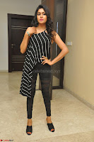 Akshida in Black Tank Top at Kalamandir Foundation 7th anniversary Celebrations ~  Actress Galleries 118.JPG
