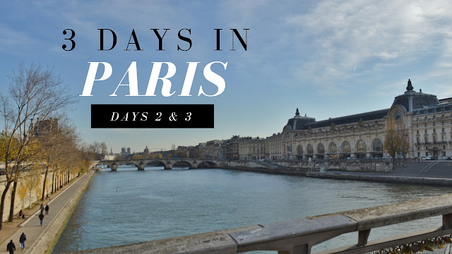 VLOG: Day 2 in Paris – MUSÉE D'ORSAY, LE MARAIS, & THE EIFFEL TOWER