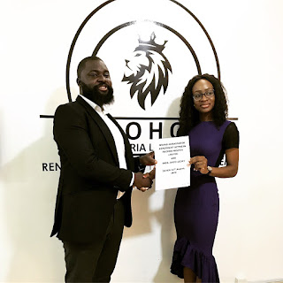 #BBNaija star Antolecky bags endorsement deal with Energy firm Reohob