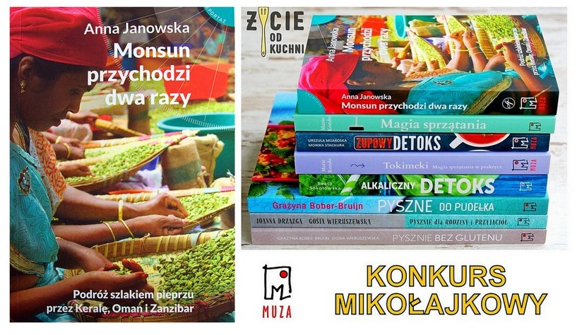 mikolajkowy konkurs z wydawnictwem muza, blog zycie od kuchni
