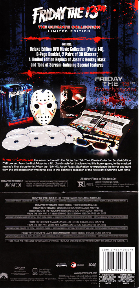 Friday the 13th part 5 dvd covers & labels by covercity.