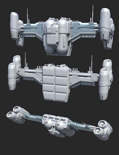 Nanoflight Jetpack for Genesis 2 and 3