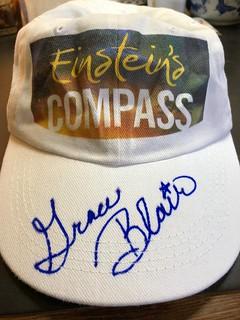 Einstein's Compass signed hat