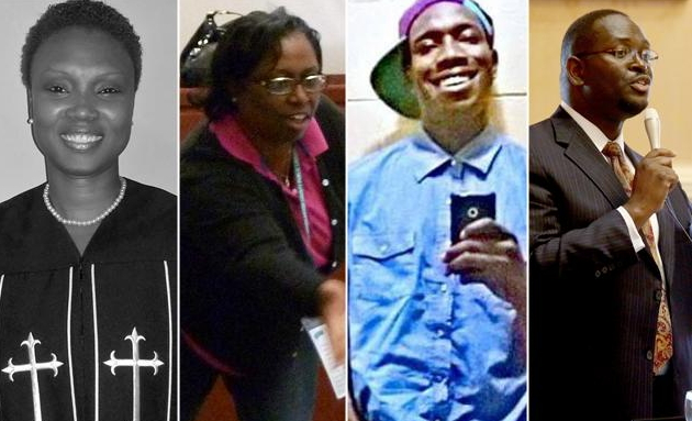 Charleston south carolina church mass shooting victims