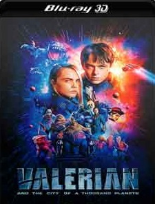 Valerian e a Cidade dos Mil Planetas 2017 Torrent Download – BluRay 3D HSBS 1080p 5.1 Dublado / Dual Áudio
