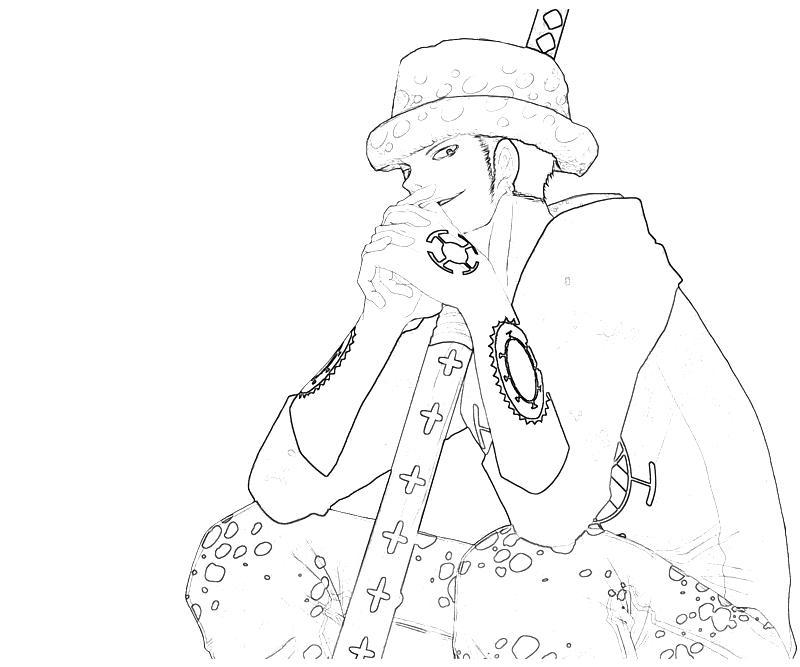 One Piece Trafalgar Law Smile Tubing