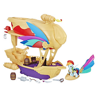 Guardians of Harmony Swashbuckler Pirate Ship Rainbow Dash 1 MLP movie