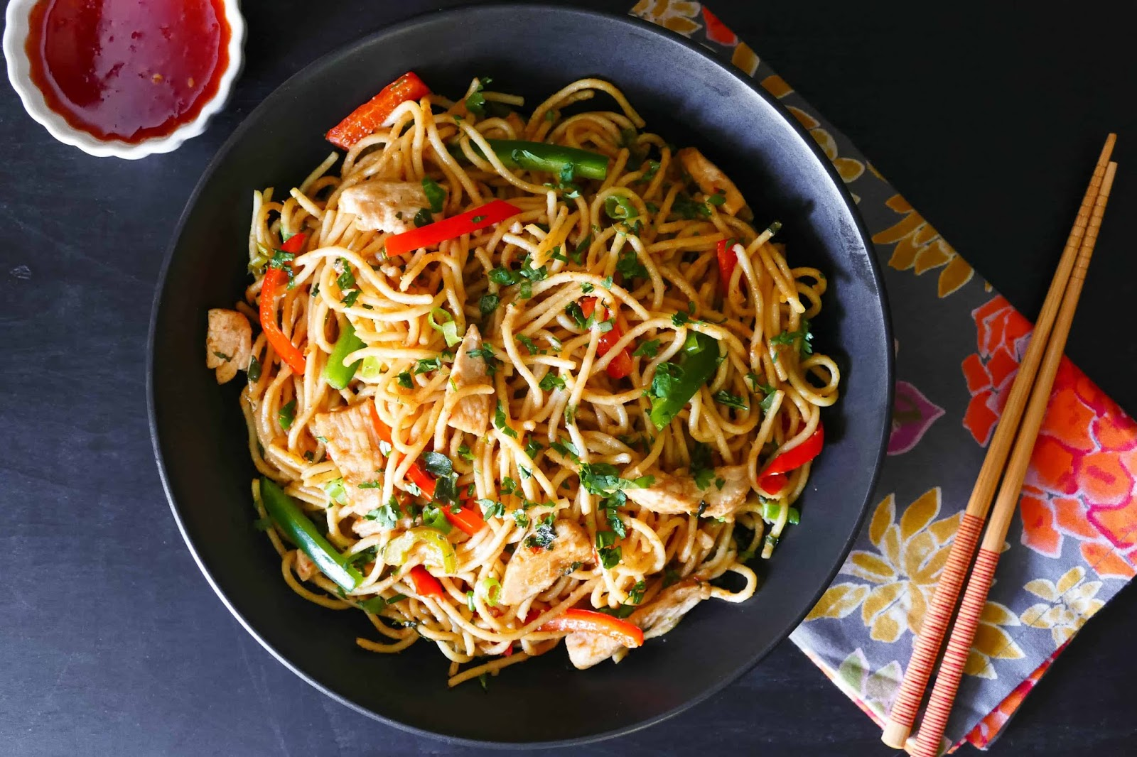 HEALTHY INSTANT POT THAI PEANUT NOODLES RECIPES