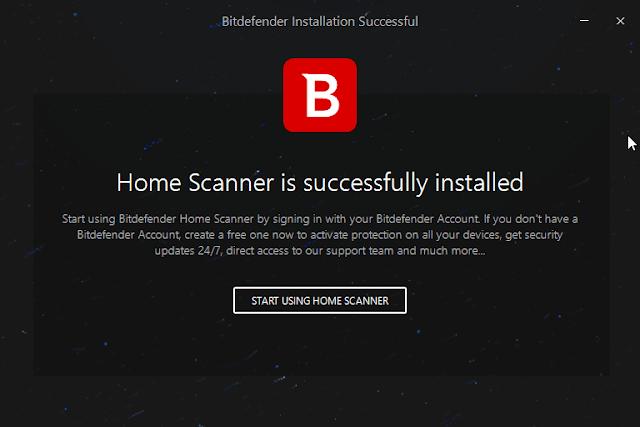 كيف أعرف المتصلين بالويفي وأحمي الشبكة من الاختراق ببرنامج Bitdefender Home Scanner