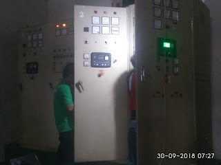 UPGRADE PANEL SINKRON GENSET