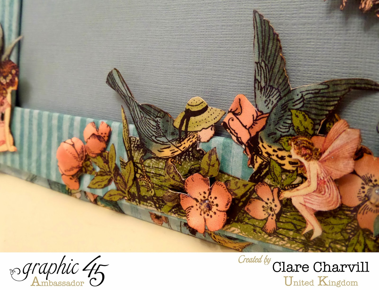 Once Upon a Springtime Single Picture Frame 2 Clare Charvill Graphic 45