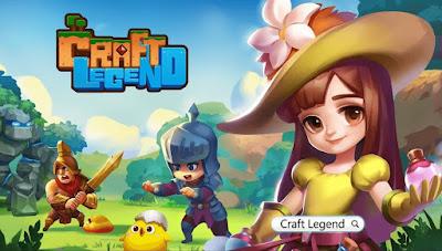 Craft Legend Apk + Data Download
