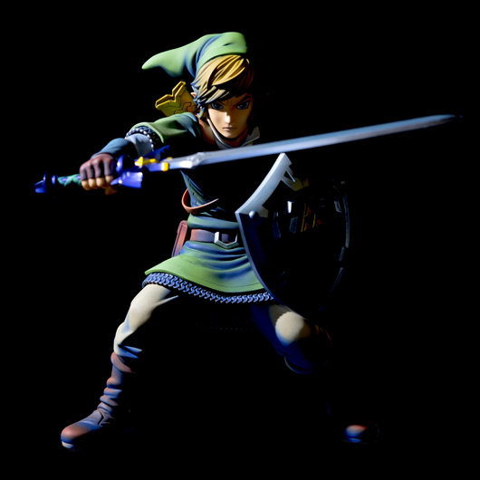 ¡Mira esta impresionante figura de Link! 2