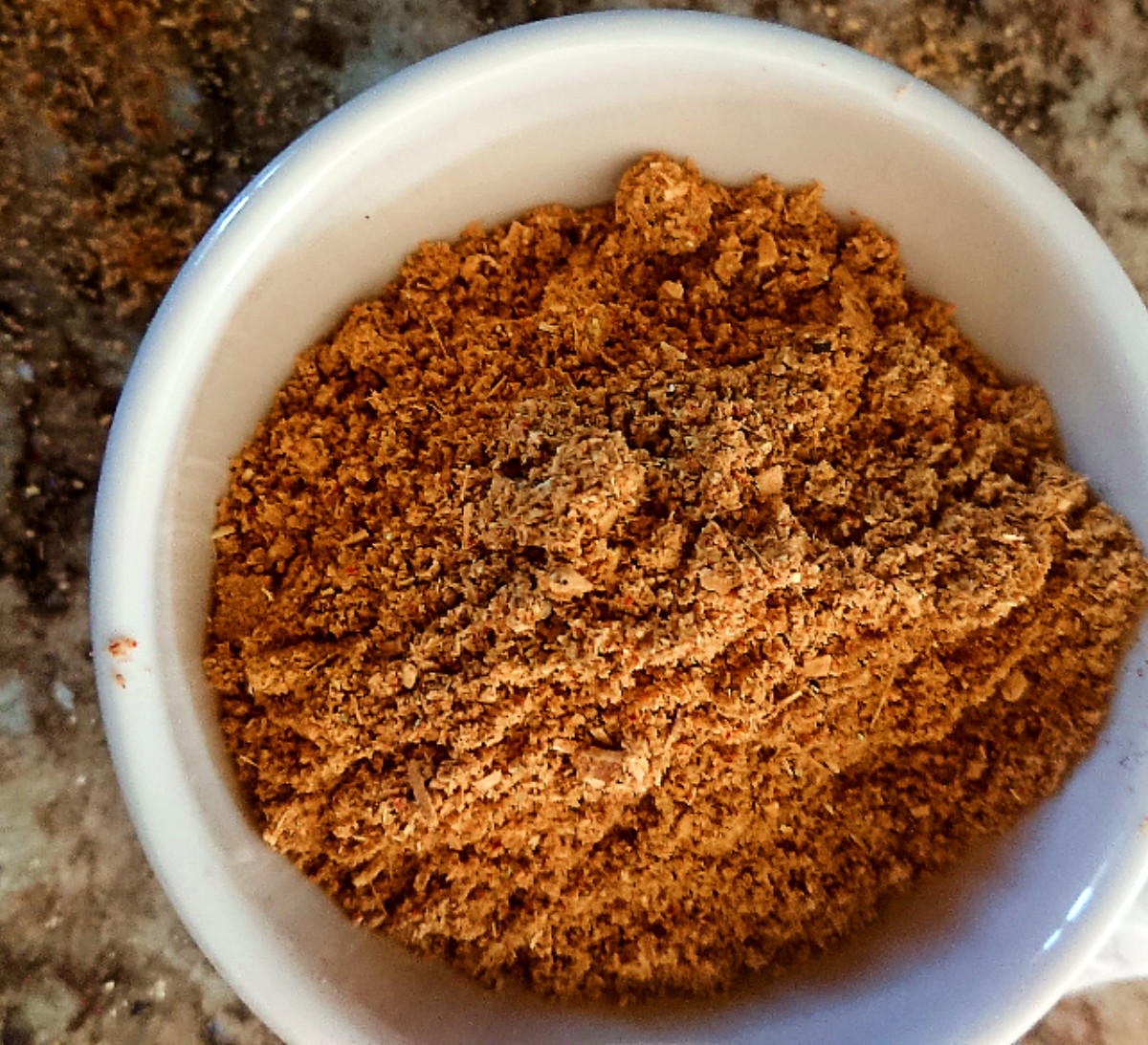 Vegan Massaman Thai Curry Spice Mix in a bowl