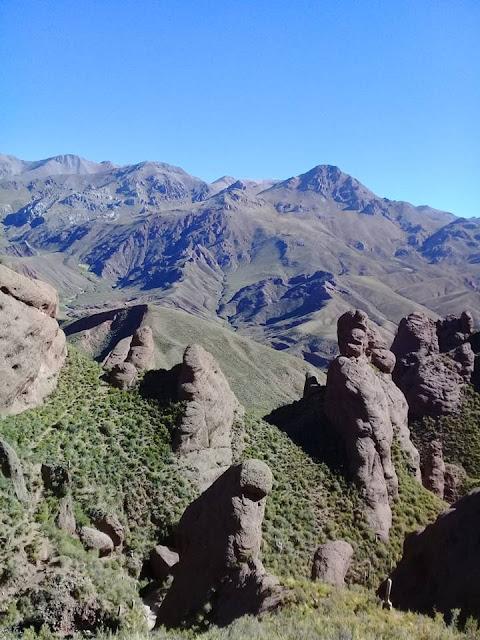 Die Berge sind hier auch das Revier des Pumas