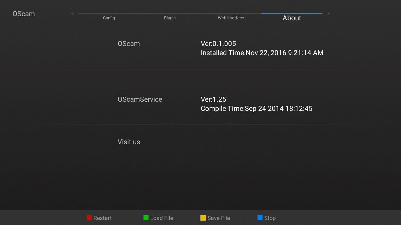 SOFTCAM: OScam v 11384 for Amiko A4 (Optimized for Powervu