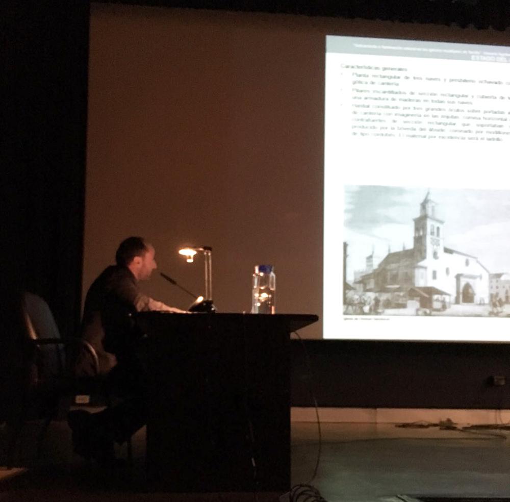 Presentación de la tesis de Honorio Aguilar