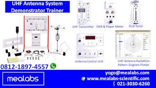 Alat Peraga UHF Antena Sistem