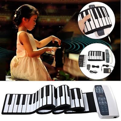 Bán Đàn piano điện tử bàn phím cuộn dẻo 49 Phím Nhập Từ Nhật