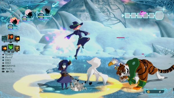Little Witch Academia: Chamber of Time tendrá cooperativo online y local