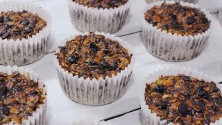 Como hacer magdalenas o muffins de avena sin harina