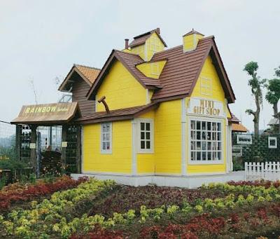 Harga Tiket Masuk Rainbow Garden Lembang Bandung