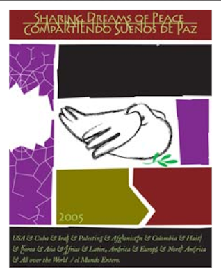 2005 poster design by Cuban designer Olivio Martinez for AIGA Center for Cross-Cultural Design and Centro Pablo de la Torriente Brau