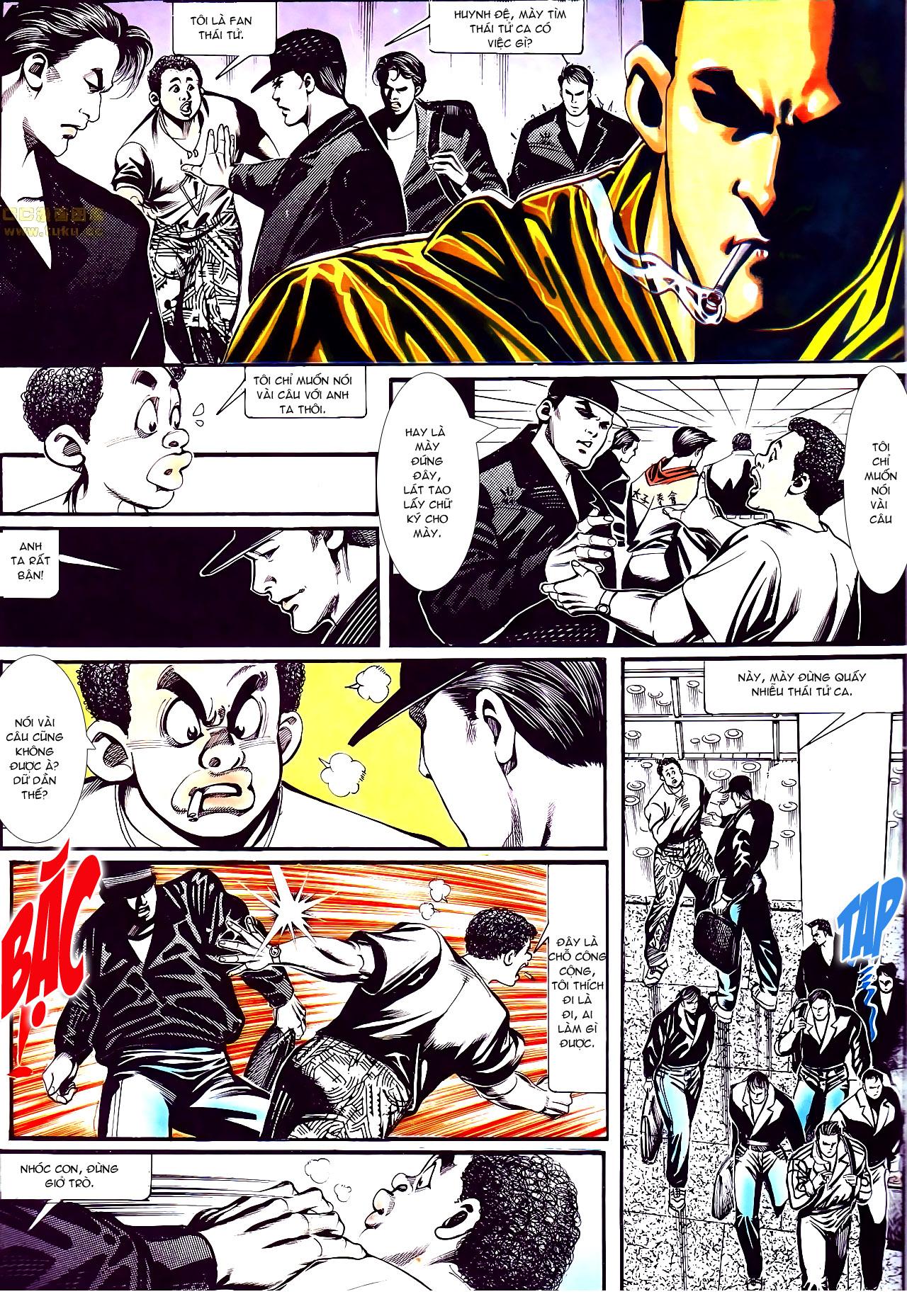 Người Trong Giang Hồ chapter 152: trăng sáng chiêm đông trang 16