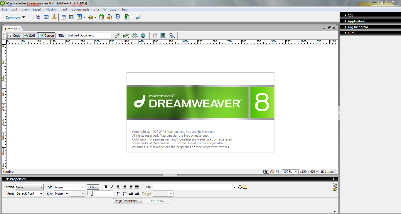 Macromedia [2005] Dreamweaver 8 crack