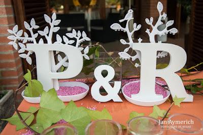 detalles de boda iniciales
