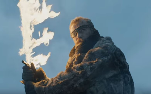 game of thrones season 7 episode 6 beric dondarrion vs the army of the dead