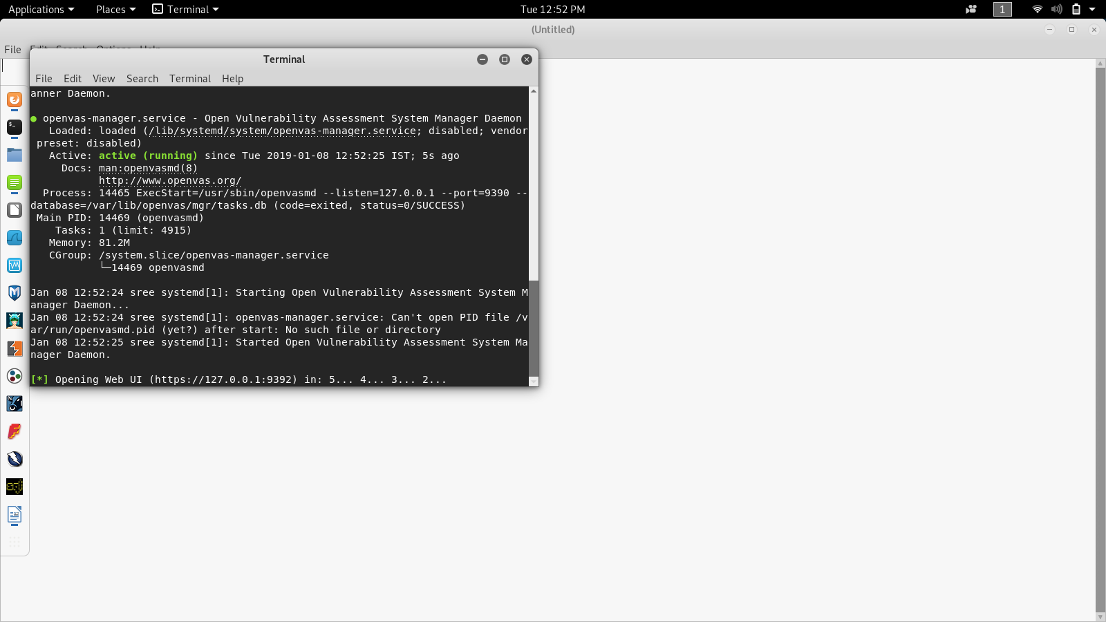 OpenVAS Scanner - The Network Vulnerability scanner