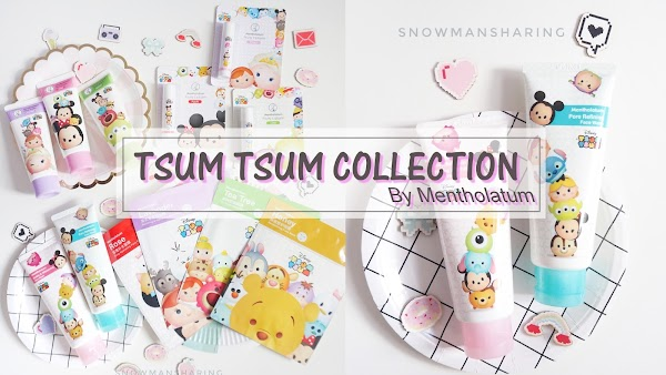 TSUM TSUM Skin Care Collection now at STORES!!