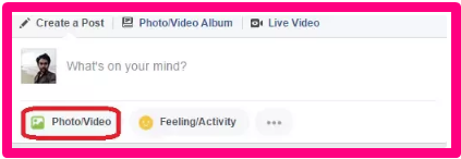 How Post A Video On Facebook