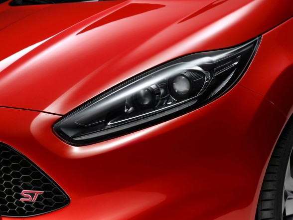 2011 Ford Fiesta St Concept Red Color Car Preview By