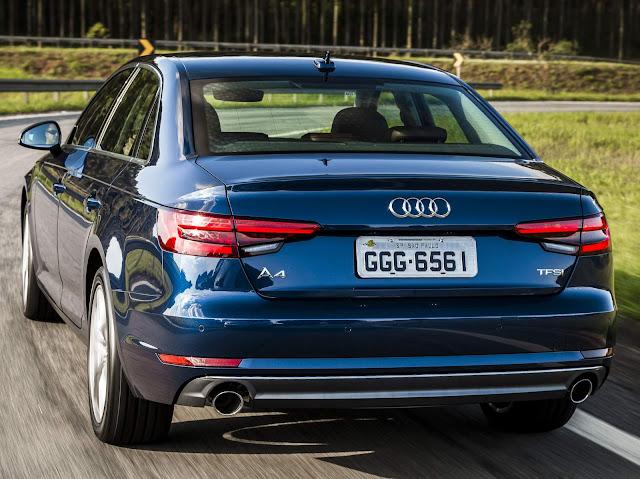 Novo Audi A4 2017 - Brasil - Preços
