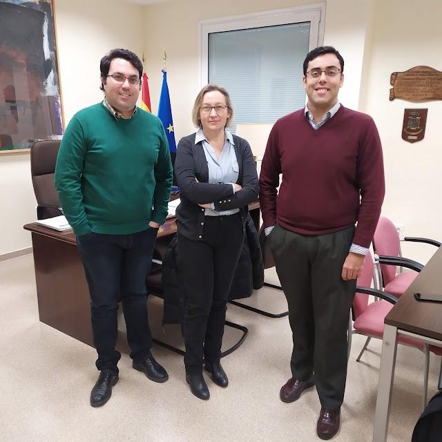 Reunión con el Decanato de la Facultad de Derecho de la Universidad de Jaén