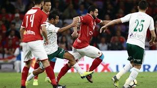 نتيجة مباراة الاهلي والمصري البورسعيدي اليوم الثلاثاء 7-8-2018 الدوري المصري
