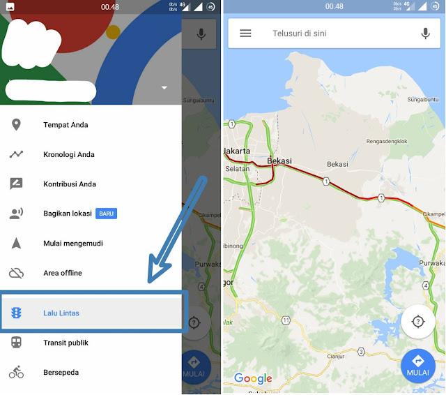 Lalu Lintas Google Map