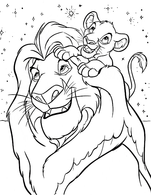 Disney Printables Coloring Pages