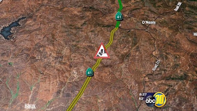 highway 41 madera county multiple vehicle crash coarsegold