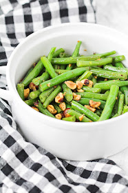 These flavorful and delicious hazelnut green beans are the perfect side dish!