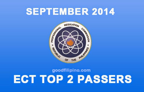 Top 2 Electronics Technician (ECT) Exam Passers for September 2014