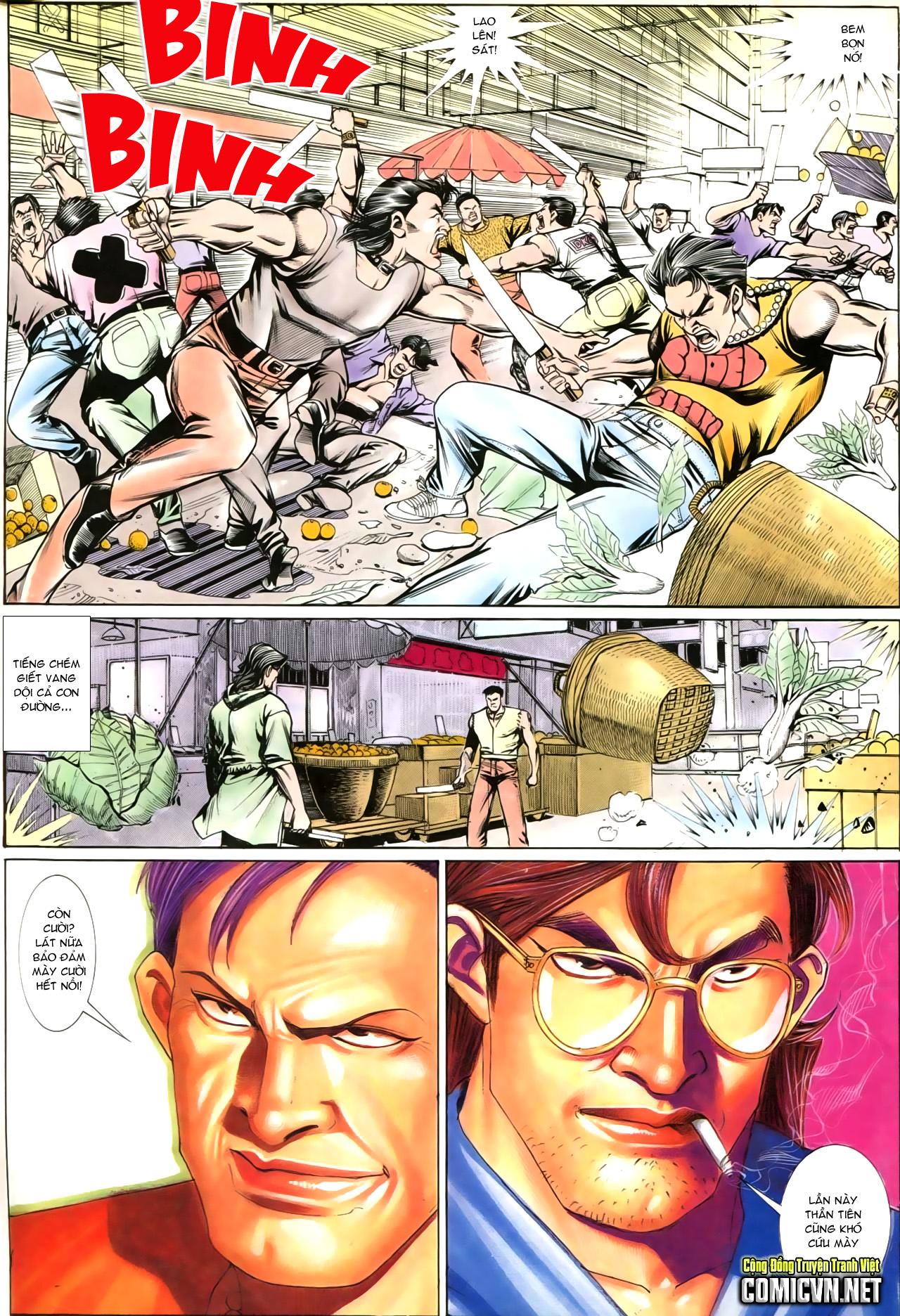 Người Trong Giang Hồ chapter 202: đối đầu trang 28
