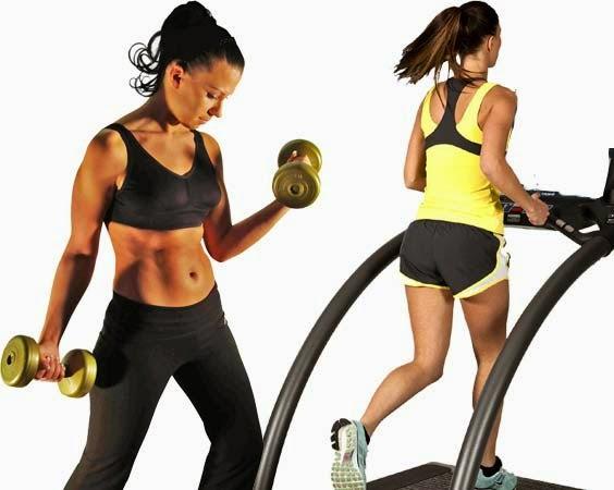 Adelgazar solo haciendo pesas