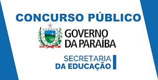 Divulgado gabarito preliminar do concurso para professor da Rede Estadual da Paraíba
