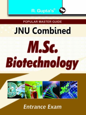 Download Free books PDF for JNU MSC Biotechnology Entrance Exam